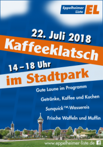 Kaffeeklatsch im Stadtpark – Einladung