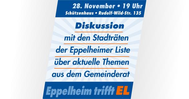 Einladung zur öffentlichen Gesprächsrunde am 28. November 2018