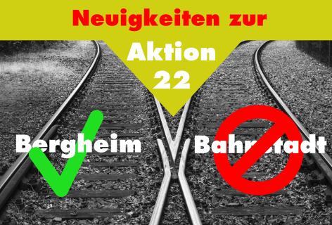Neuigkeiten zur Aktion 22