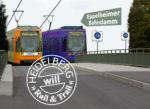 Die Stadt Heidelberg plant PHV-Straßenbahn und Radschnellverbindung über Eppelheimer Bahndamm
