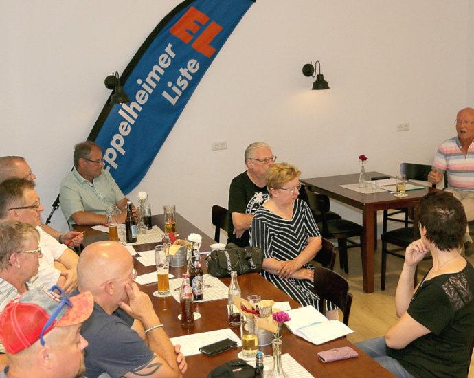 Öff. Gesprächsrunde 22. Juli 2020. Foto: Mit freundl. Genehmigung Werner Popanda