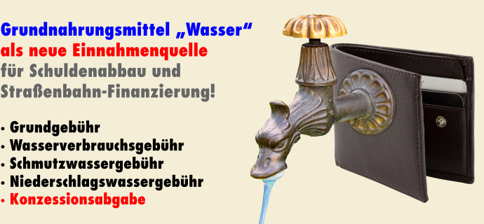 Konzessionsabgabe Eigenbetrieb Wasserversorgung