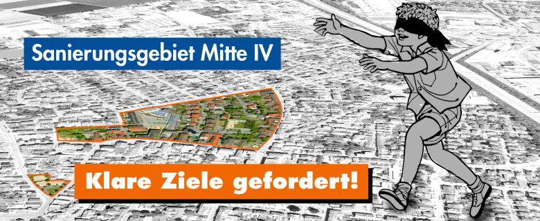Städtebauliche Entwicklung im Innenbereich: Klare Ziele gefordert.