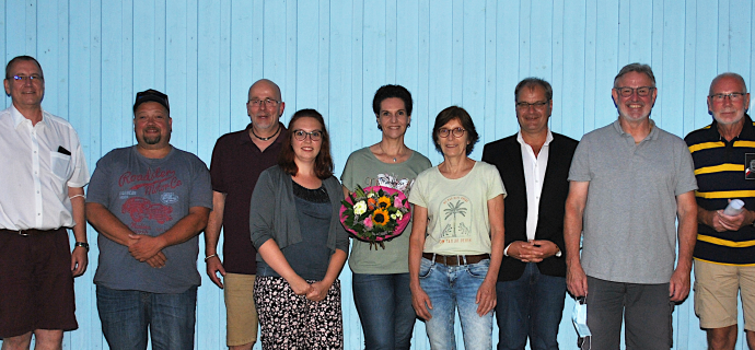 Gruppenbild Eppelheimer-Liste-Vorstand seit 2021