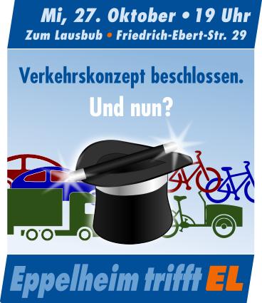 Öffentliche Gesprächsrunde – 27.Okt 21 – Verkehrskonzept beschlossen Was nun?